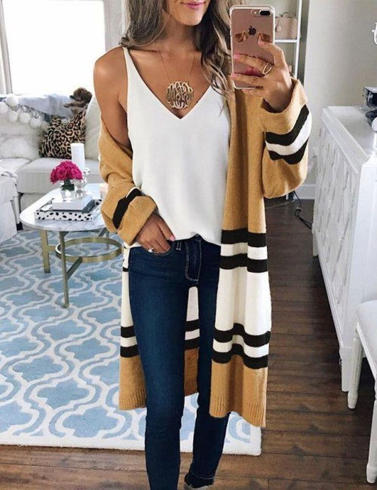 Cool 56 Cute Womens Cardigan And Sweater Ideas. More at http://trendwear4you.com/2018/02/08/56-cute-womens-cardigan-sweater-ideas/