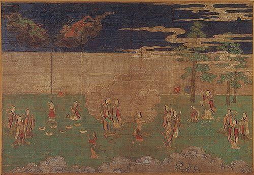 The Birth of the Buddha [Japan] (1993.478.1) | Heilbrunn Timeline of Art History | The Metropolitan Museum of Art