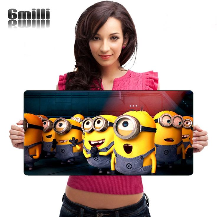 Soft Speed Rubber Cartoon Gaming Mouse Pad Laptop Mats Anti-Slip Large Size 600*300mm MIN600