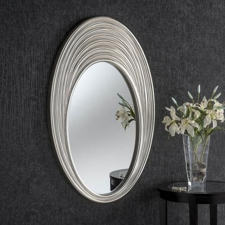 Rosa Silver Wall Mirror