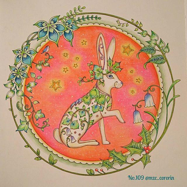 . New塗り絵📖✨ 海の楽園以来のジョハンナさま! #ジョハンナからの贈りもの です🎄💖. . 本はユリエさん(@yurie5454 )からの贈りもの📕💓. 色鉛筆はポリクロモスはじめ数色RoMiちゃん(@h15r20 )からの贈りもの✏💓. タイトルにちなんで贈りもの尽くしの作品となりました🙌🎁✨. . お2人とも、本当に本当にありがとうございます!!🙏✨✨ 塗り絵生活もすさんだ心も一気に潤いました😂💕💕 あたしゃ幸せものだよ~!!😭💓✨✨. . #コロリアージュ #大人の塗り絵 #おとなのぬりえ #塗り絵 #ジョハンナからの贈りもの #ジョハンナバスフォード #johannabasford #coloriage #coloring #coloringbook #adultcoloringbook #coloringforadult #johannaschristmas #ジョハクリ_mzc