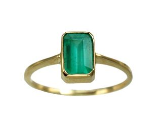 Conroy & Wilcox Zambian Emerald. Emerald is my birthstone :) Love this ring