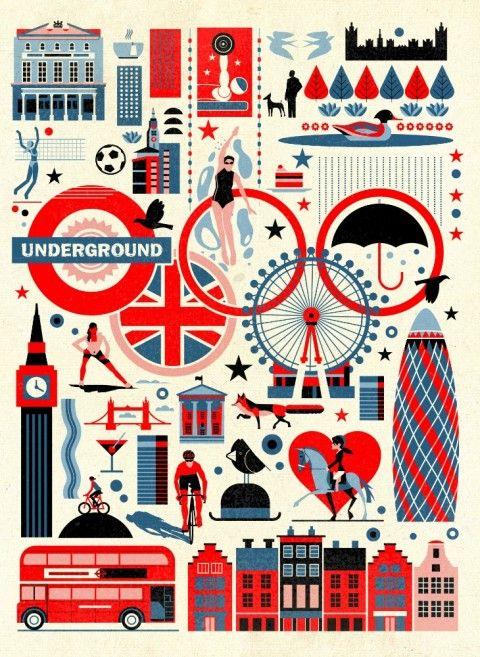 Olympics poster, Dieter Braun.