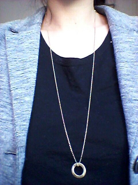 Circle of Change necklace. #1people #1peopletogether #fashion #danishdesign #jewellery #jewelry