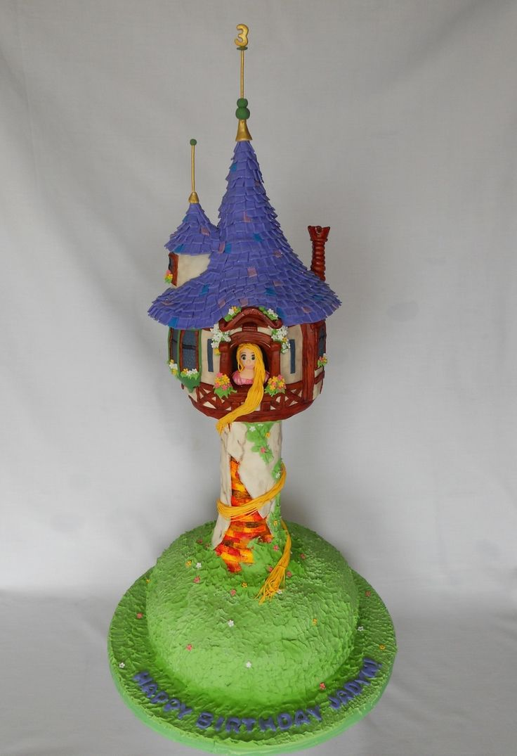 Tangled Cake (aka Repunzels tower)