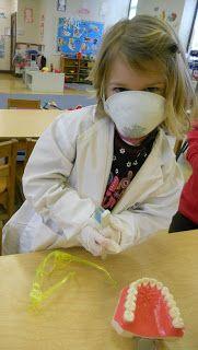 Dramatic Play - Preschool Playbook: dental health