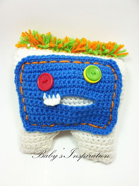 Free Crochet Pattern Tooth Fairy Pillow : 1000+ images about crochet tooth fairy pillow pouch on ...