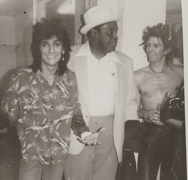 ....................Willie Dixon and Keith Richards.