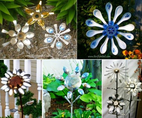 17 Best Images About Hubcap Flowers On Pinterest Gardens