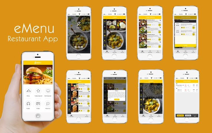 eMenu is the perfect mobile menu app for hotels & restaurants. It helps you to attract the customers by engaging them to choose view its health benefits and order directly from the Smartphone's.