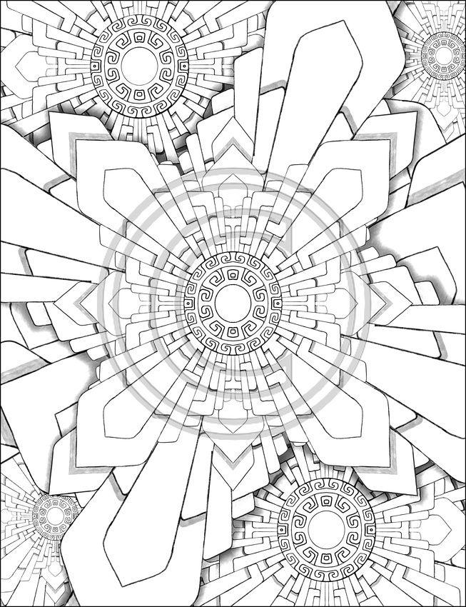 unique mandala Mandala Pinterest