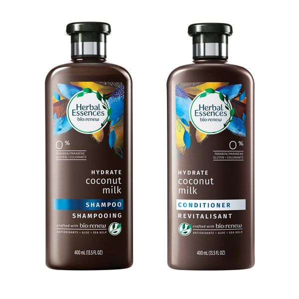 In 2017, Herbal Essence is launching nine new formulations, each featuring the antioxidant histidine, which works to neutralize the damaging free radicals on the hair shaft. Our favorite so far has been this hydrating coconut milk blend, which has a sweet, vanilla-soft scent that's not sickly or cloying. $6/ each (jet.com).