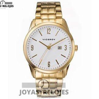 Maravilloso ⬆️😍✅ VICEROY 46591-95 😍⬆️✅ , ejemplar perteneciente a la Colección de RELOJES VICEROY ➡️ PRECIO 82 € Disponible en 😍 https://www.joyasyrelojesonline.es/producto/reloj-viceroy-acero-dorado-caballero-ref-46591-95/ 😍 ¡¡Edición limitada!! #Relojes #RelojesViceroy #Viceroy