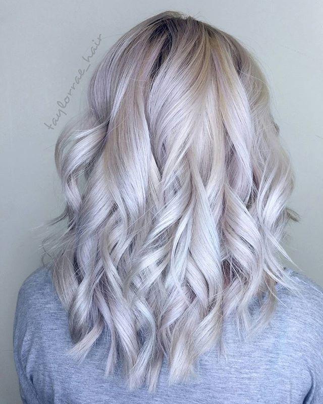 Platinum Blonde Bombshell  #btconeshot_haircolor16 #btconeshot_color16 #btconeshot_curls16