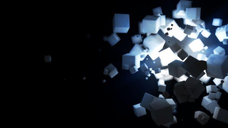 Dark Cubes Backgrounds HD Wallpapers HD Wallpaper