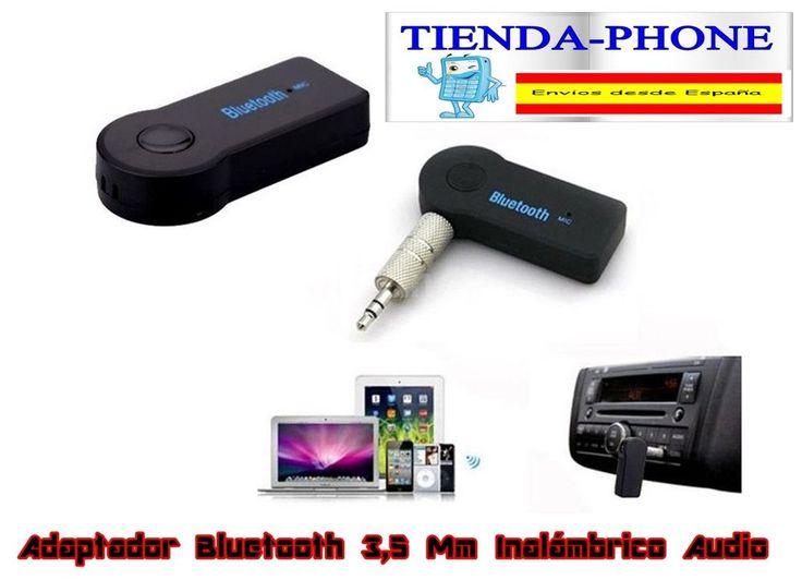 Adaptador Bluetooth 3,5 Mm Inalámbrico Audio música estéreo coche