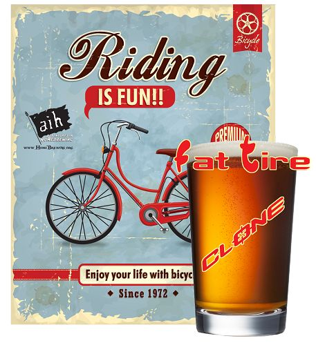 Fat Tire Clone Recipe Kit - Brew a Fat Tire Ale - $33.99