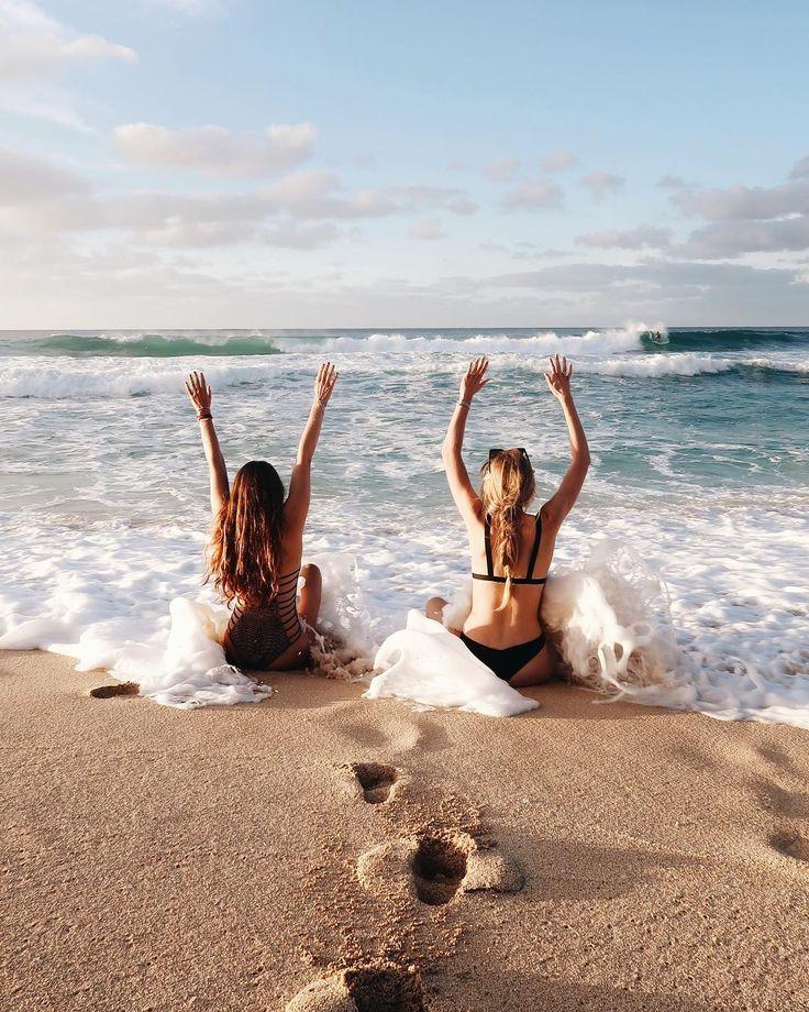 Море пляж друзья картинки