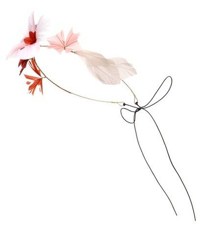MYTHERESA.COM ONLINE EXCLUSIVE FEATHER-EMBELLISHED HEADBAND VALENTINO
