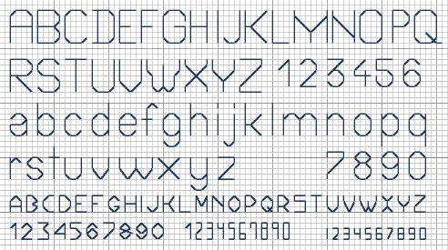 xs alphabet
