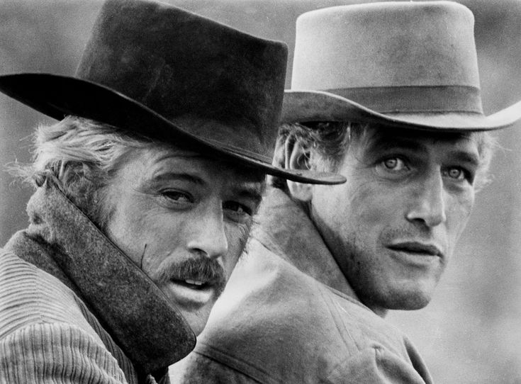 Robert Redford and Paul Newman in Butch Cassidy and the Sundance Kid