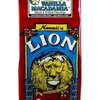 Lion Coffee Vanilla Macadamia Light Medium Roast 10oz