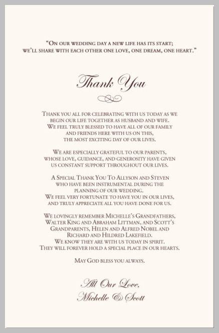 program thank u wedding invitation wording wedding invitation wording inspiration and ideas for your wedding invitations weddinginvitationwording