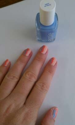 ... all essie colors (a crewed interest, tart deco, and bikini so teeny A Crewed Interest Essie