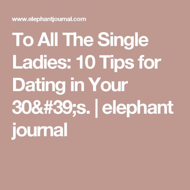 elephant journal online dating