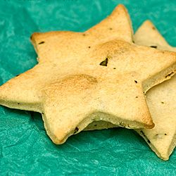 Savory Rosemary, Thyme and Sage Cookies | entertaining | Pinterest ...