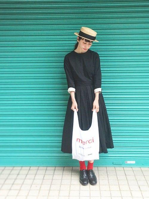 YAECAのワンピースを使ったKazumiのコーディネートです。WEARはモデル・俳優・ショップスタッフなどの着こなしをチェックできるファッションコーディネートサイトです。
