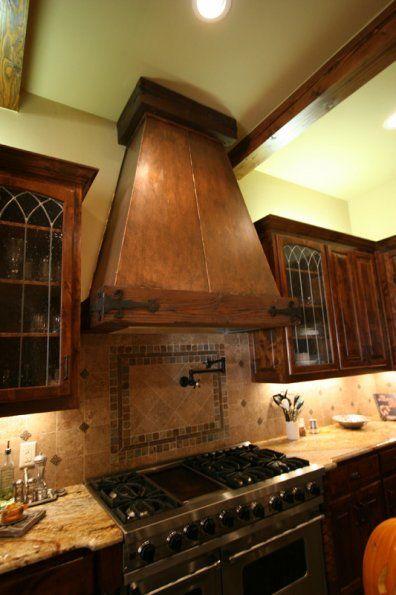 modern design of wall mount range hood for kitchen decoration