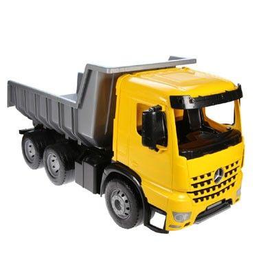 Kiepauto - 63 cm  Met deze stoere kiepwagen van 63 centimeter kun je nu snel en eenvoudig zand verplaatsen. Superleuk speelgoed voor op het strand of in de zandbak.  EUR 24.99  Meer informatie