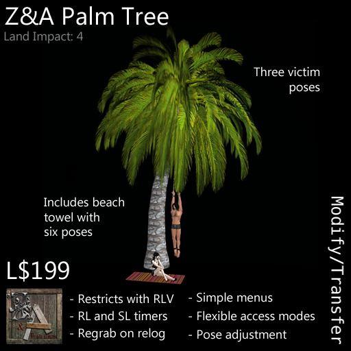 Z&A Palm Tree