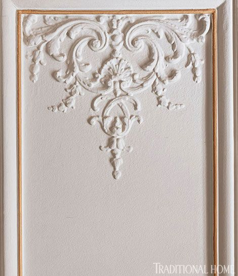 elegant molding details ornate plaster molding adorns the living room wall panels which are painted - Plaster Of Paris Wall Designs