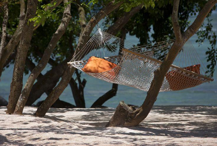 The Natural Beach and hammock