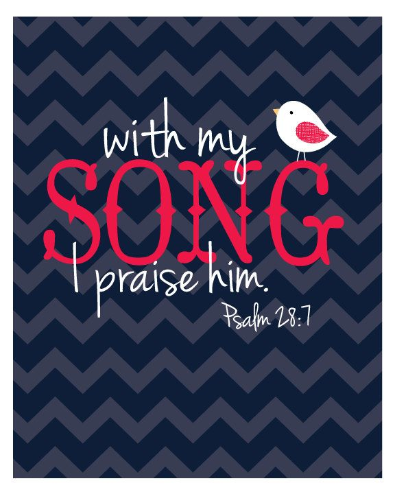 My Song Printable Wall Art 8x10 by candmedesigns on Etsy