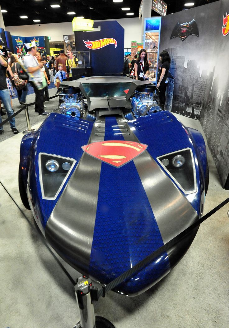 Life Size Superman Hot Wheels Car Hot Wheels Cars