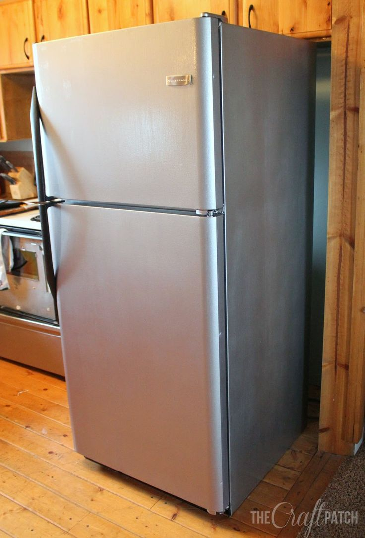 The Craft Patch: I Painted My Appliances!!! (Liquid Stainless Steel Review.  Painting ...