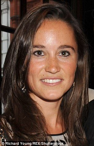 He added: 'Bonding uses tooth-coloured resin material, which is used for cosmetic purposes to improve the appearance of discoloured, chipped or uneven teeth' (Pippa is pictured in 2008)