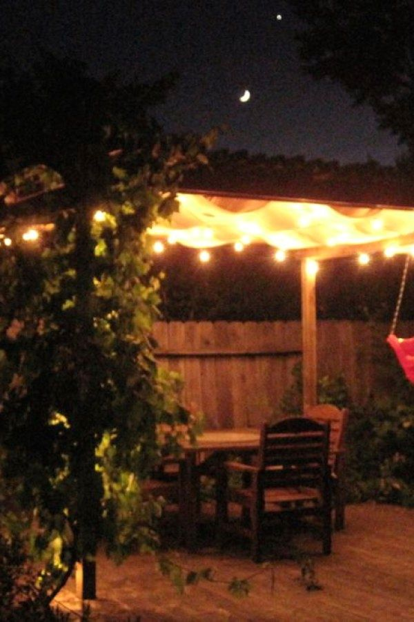12 Beautiful Diy Outdoor Lighting Designs You Should Consider For Your Next Project With Images Outdoor Patio Lights Diy Outdoor Lighting Deck Lighting