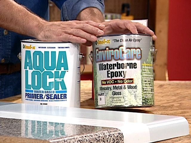 PAINTING Formica Or Laminate COUNTERTOPS
