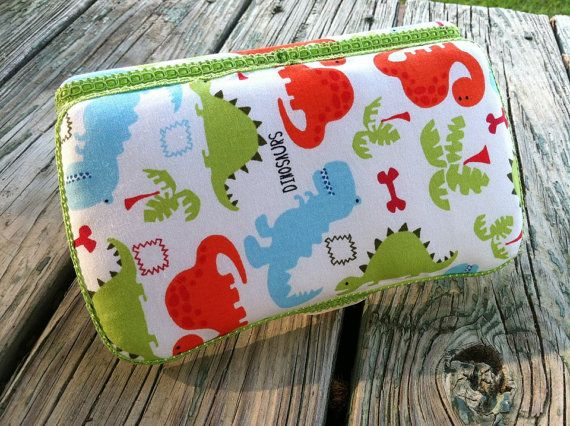 Dinosaur Boutique Style Travel Baby Wipe by CrystalCreations108, $8.00