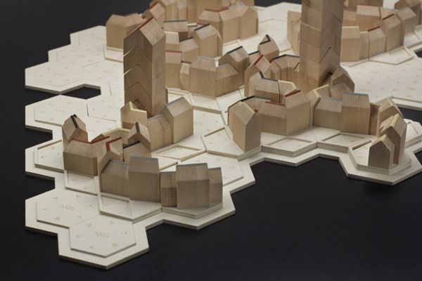 Board Game – San Gimignano by Benjamin Welke, via Behance