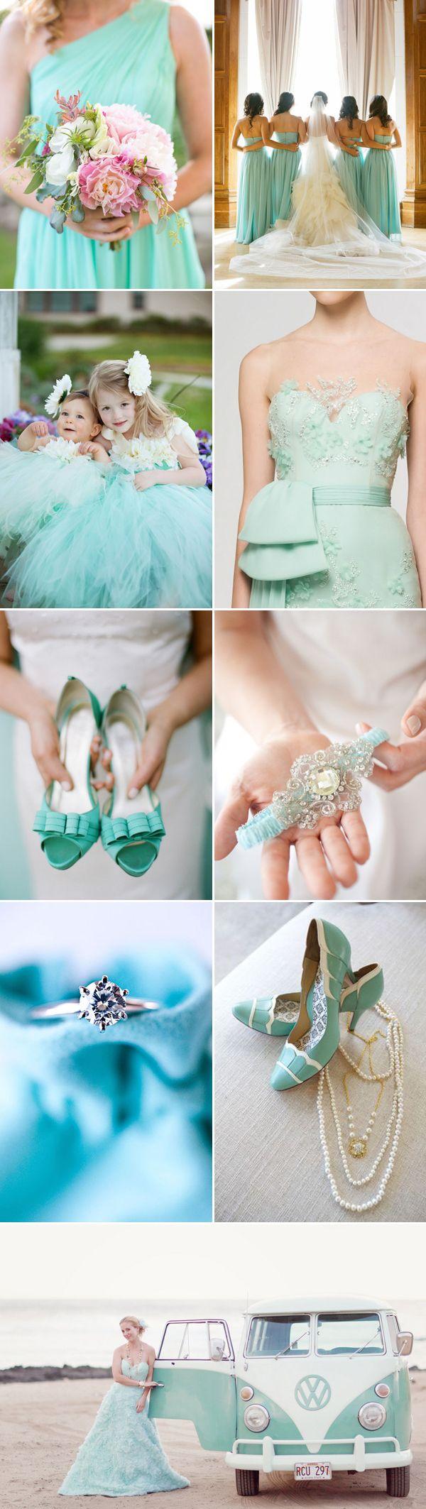 INSPIRAÇÃO: Mais ideias para casamento azul Tiffany