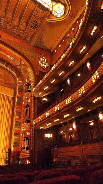 The Theatre Tuschinski in Amsterdam. 1921 by H.L. de Jong