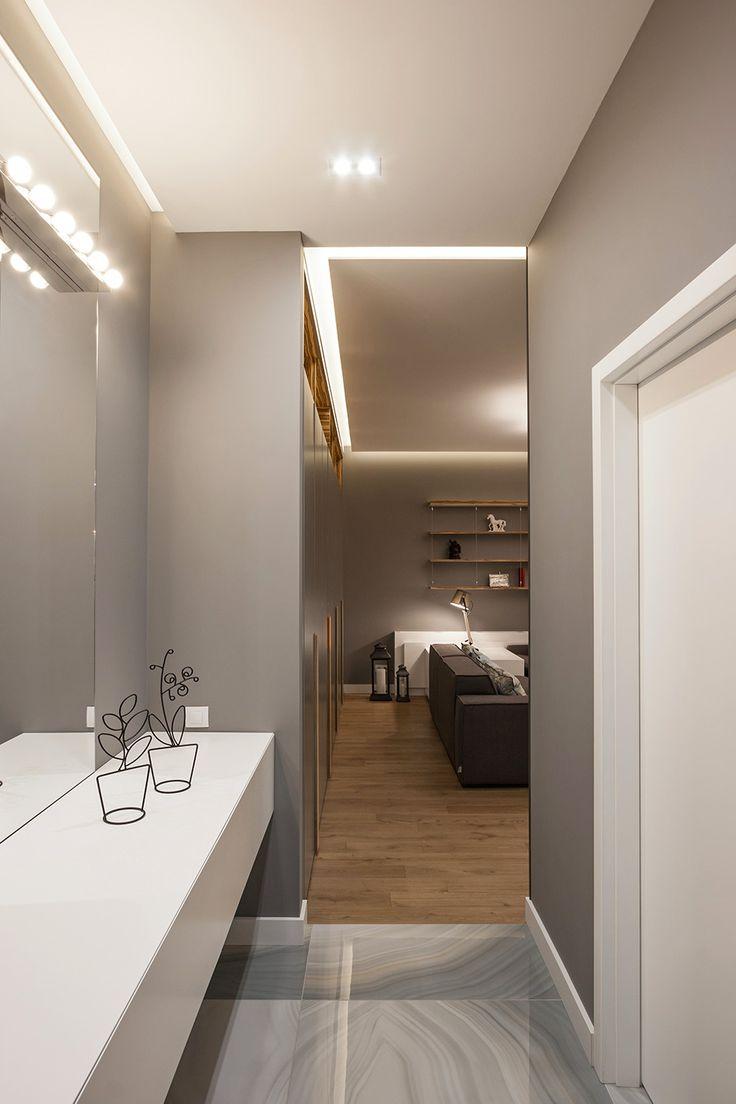 Hall Dnepropetrovsk apartment, SVOYA Studio