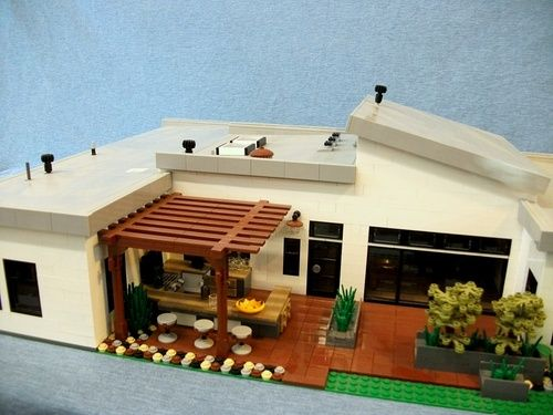 lego back part of the house lego pinterest lego ideen lego und lego haus. Black Bedroom Furniture Sets. Home Design Ideas