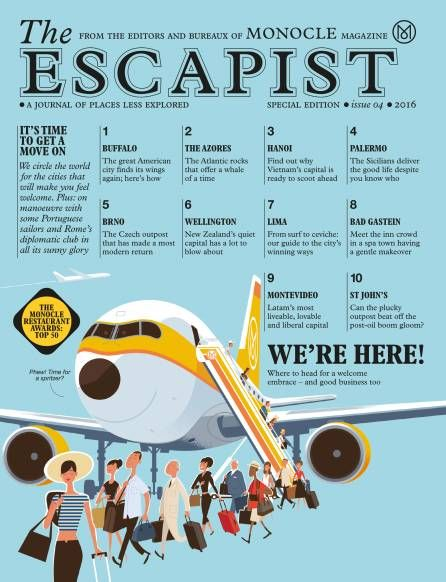 Cover shot of The Escapist 2016