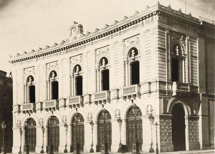 Teatro real finales s. XIX.